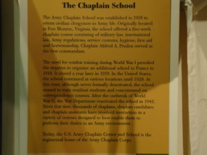 WW1 and Chaplaincy Museum 008